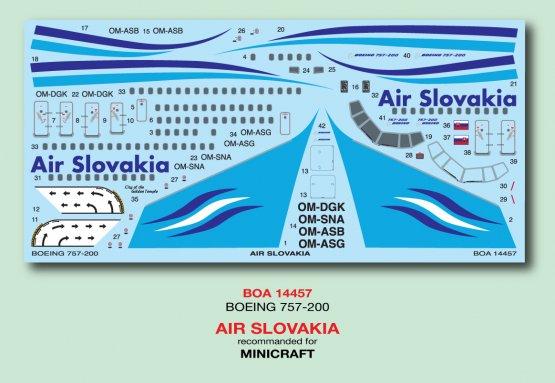 Boeing 757-200 - Air Slovakia 1:144