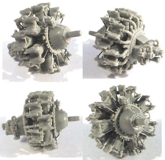 Pratt & Whitney R-1830 1:32