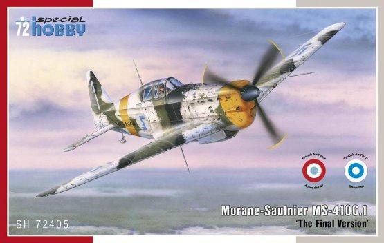 Morane Saulnier MS-410C.1 - The Final Version 1:72
