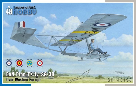 EoN Eton TX.1/ SG-38 Over Western Europe 1:48