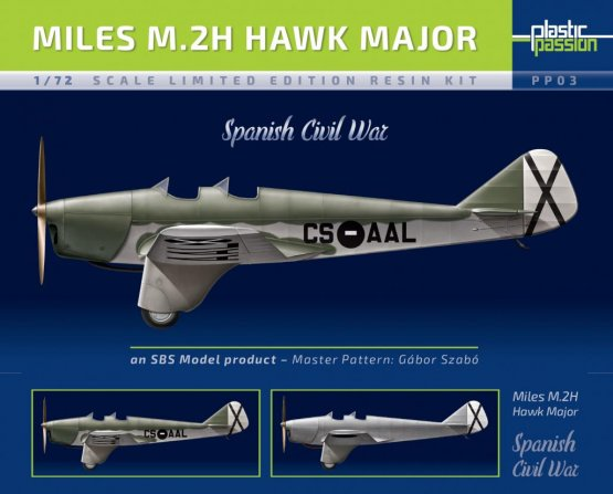 Miles M.2H Hawk Major - Spanish Civil War 1:72
