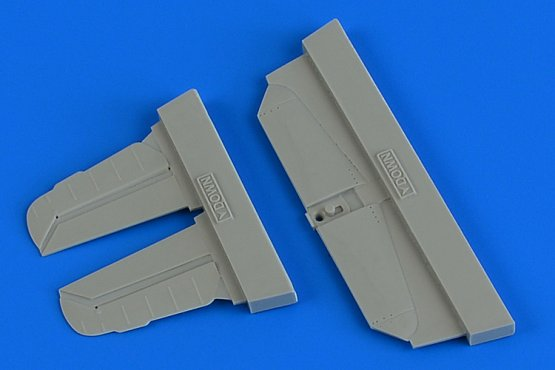Bf 109G-6 control surfaces 1:72