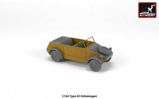 Type 82 Kübelwagen 1:144