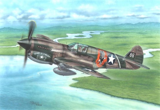 P-40E Warhawk - Claws and Teeth 1:72