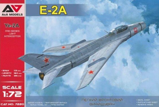 Mikojan E-2A 1:72