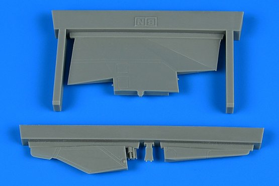 MiG-23BN correct tail fin 1:48
