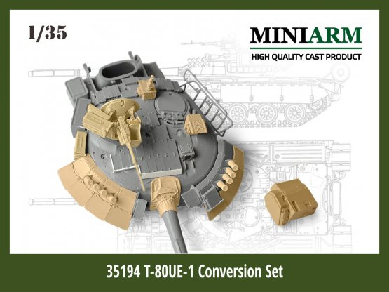 T-80UE-1 Conversion set 1:35
