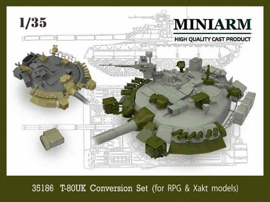 T-80UK Conversion set 1:35