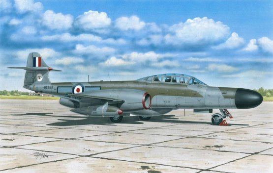 Gloster Meteor NF Mk.12 1:72