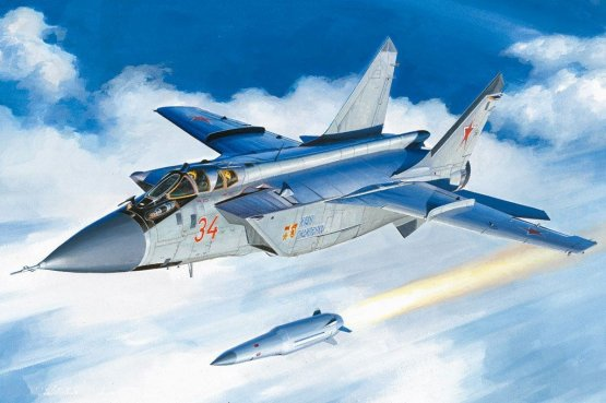 MiG-31BM Foxhound w/ KH-47M2 1:48