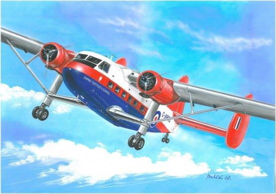 Scottish Aviation Twin Pioneer (Air Atlantique) 1:72