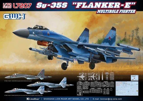 Su-35S Flanker-E 1:72