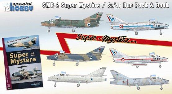 SMB-2 Super Mystere Duo Pack & Book 1:72