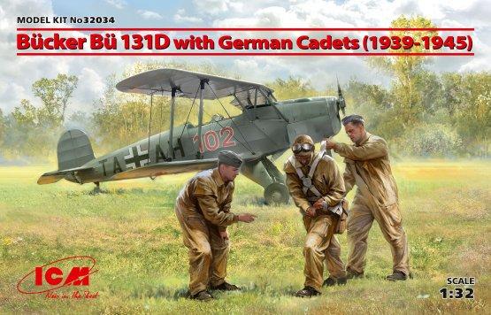 Bü 131D w/ German Cadets (1939-45) 1:32