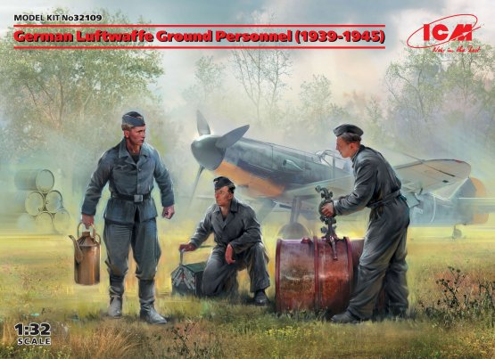 German Luftwaffe Ground Personnel (1939-1945) 1:32