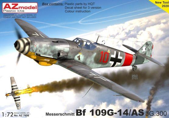 Bf 109G-14/AS JG.300 1:72