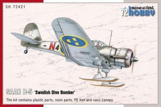 SAAB B-5 Swedish Dive Bomber 1:72