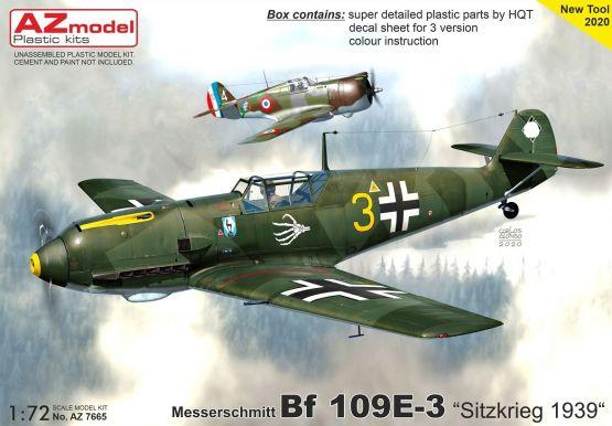 Bf 109E-3 - Sitzkrieg 1939 1:72