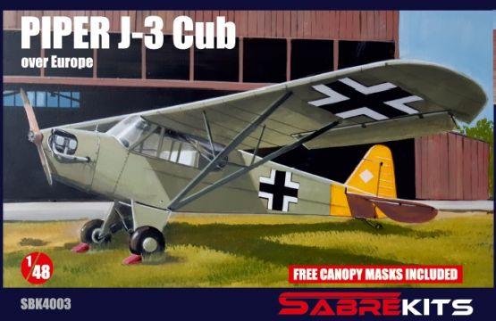 Piper J-3 in Europe 1:48