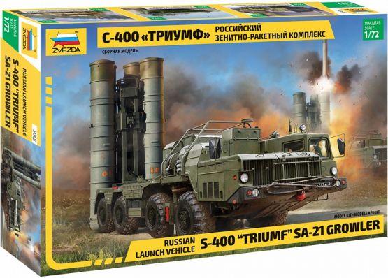 S-400 Triumf (SA-21 Growler) 1:72