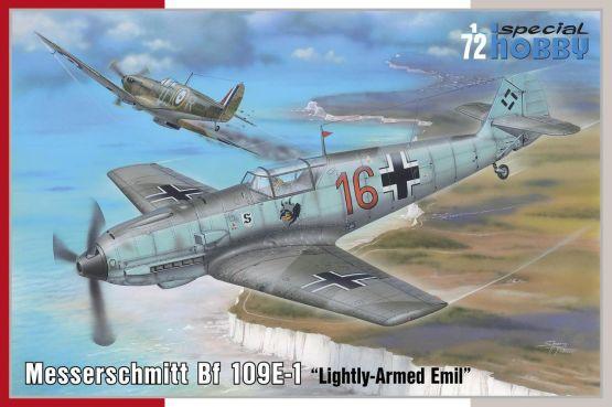 Bf 109E-1 Lightly-Armed Emil 1:72