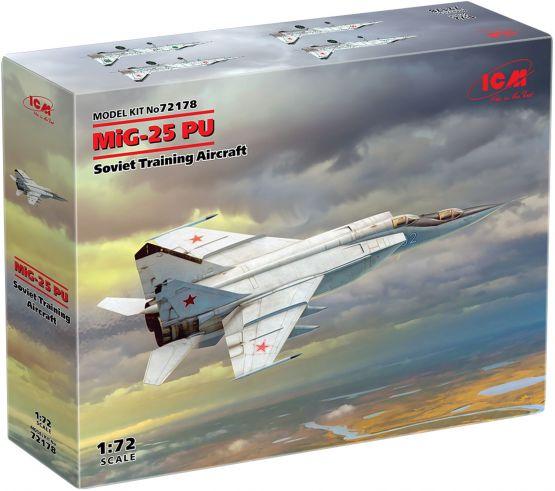 MiG-25PU Soviet Training Aicraft 1:72