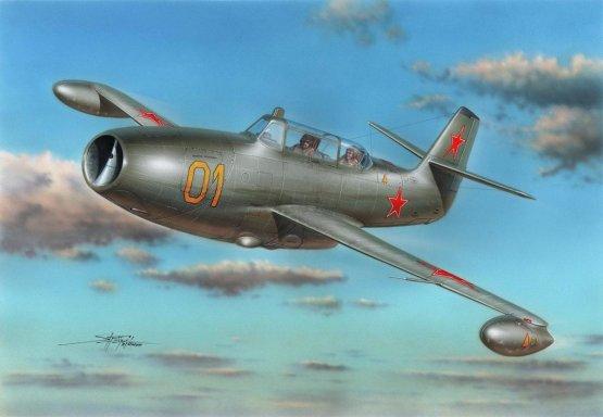 Yakovlev Yak-23UTI Two-Seater 1:72