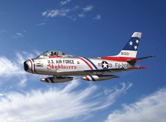F-86F Sabre Skyblazers 1:48
