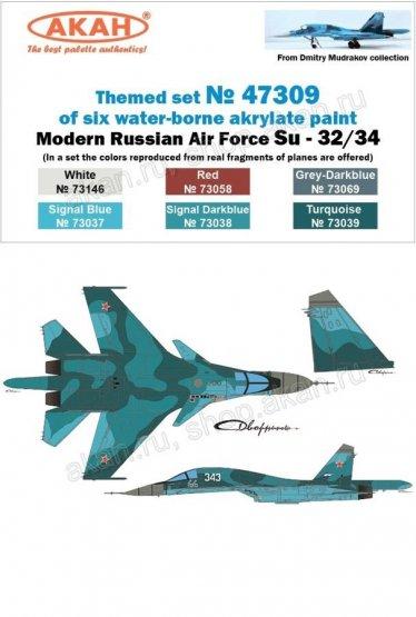 Russian Modern Air Force - Su-32/34