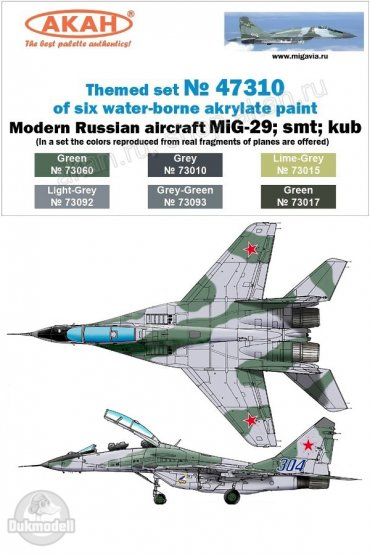 AKAN Russian Modern Air Force - MiG-29