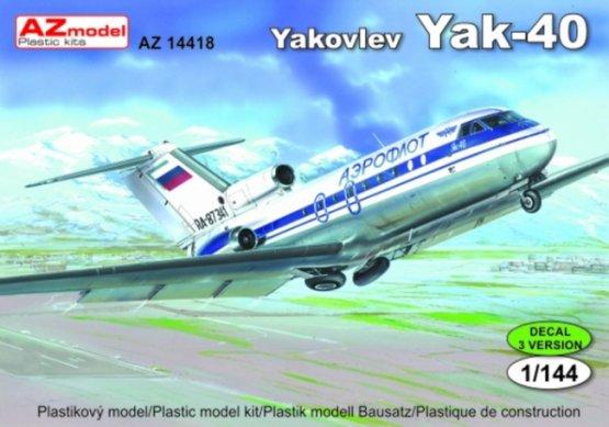 Yakovlev Yak-40 Aeroflot, Libya 1:144