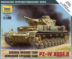 Zvezda Pz.kpfw.IV Ausf.D 1:100