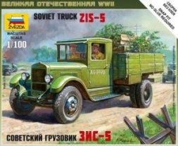 Zevzda Soviet truck ZiS-5 1:100