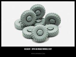 BTR-80 wheels set 1:35