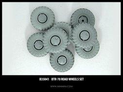 BTR-70 wheels set 1:35