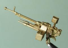 Mini World DShKM heavy machinegun, turret version 1:72