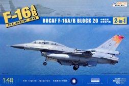 F-16A/B Block 20 - ROCAF (2 in 1) 1:48