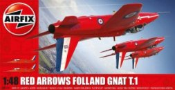 Folland Gnat T.1 Red Arrows 1:48