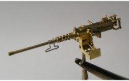 Mini World Browning M2 cal.50 on mount tank 1:72