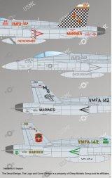 F/A-18 Hornet, VMFA-142, VMFA-312 1:48