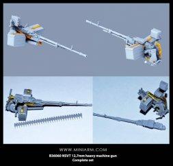 Miniarm NSVT 12,7mm heavy machine gun 1:35