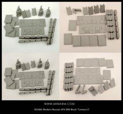 Miniarm T-90 ERA Block Contact-5 1:35