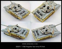 Miniarm T-72B2 Rogatka Slat Armor PE Parts 1:35