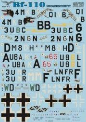 Print Scale Messerschmitt Bf 110 1:72