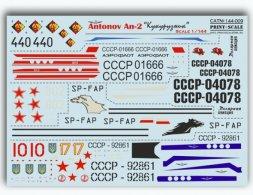 Print Scale Antonov An-2 Kukurusnik 1:144