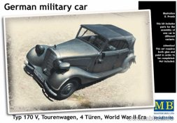 Master Box Mercedes Benz 170V Tourenwagen 4 Türen 1937 1:35