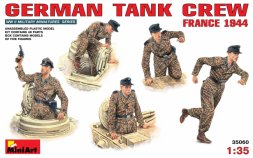MiniArt German Tank Crew - France 1944 1:35