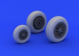Eduard Brassin F-104 undercarriage wheels late 1:32