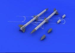Eduard Brassin AIM-120A/ B AMRAAM 1:48