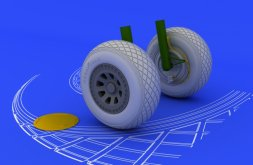 Eduard Brassin PV-1 wheels 1:48